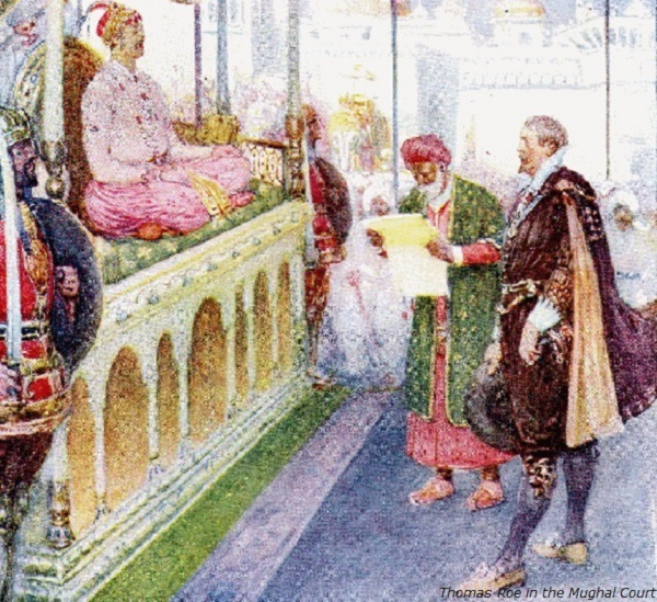 Thomas Roe in the Mughal Court