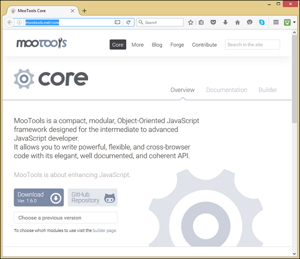 MooTools Core Library