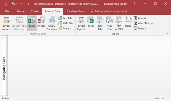 MS Access - Data Import
