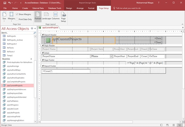 Access Report Kimoterrainsco - How to create an invoice report in access
