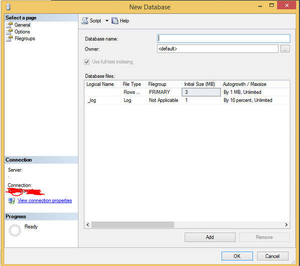 MS SQL Server - Create Database - Tutorialspoint