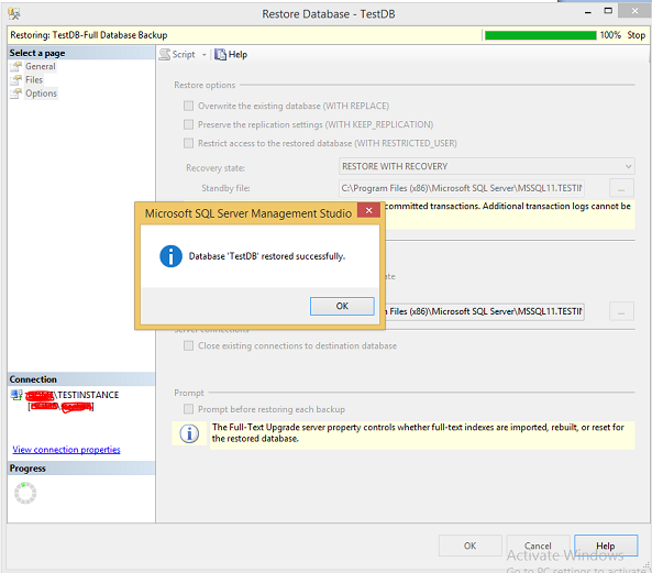 how to connect sql server management studio to local database