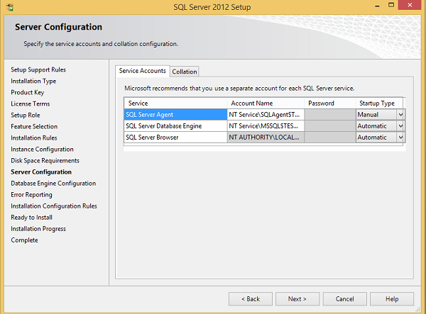 MS SQL Server - Installation