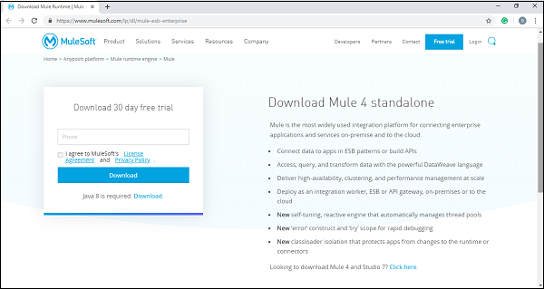 MuleSoft - Quick Guide - Tutorialspoint