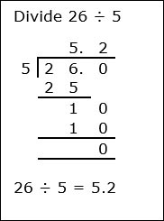 Division With Decimal Number