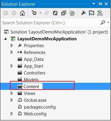 Add New Content Folder