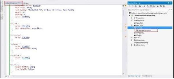 Create New CSS 1