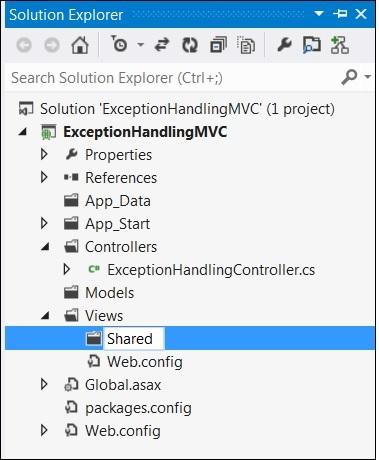 MVC Error Handling