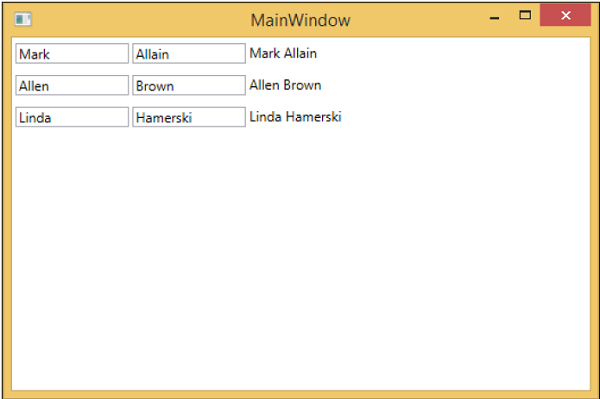 Hooking Up ViewModel Main Window
