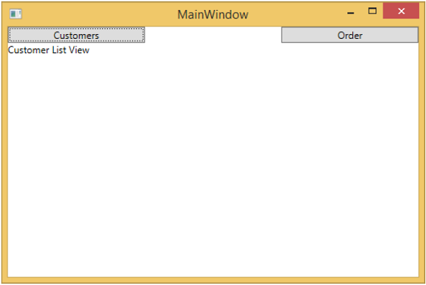 MVVM Events MainWindow2
