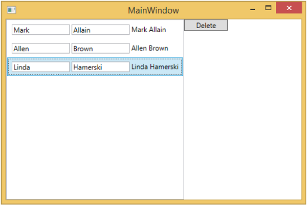View and ViewModel Communication MainWindow2