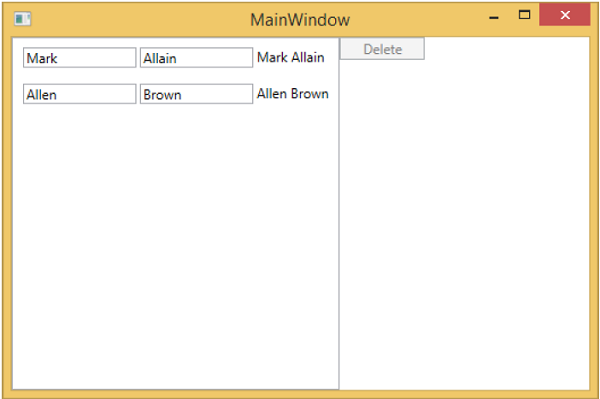 View and ViewModel Communication MainWindow3
