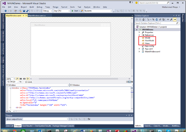 WPF Application Step1