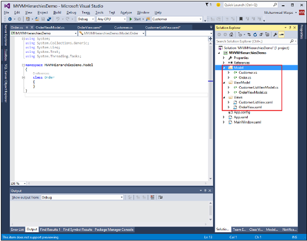 WPF Application Step2