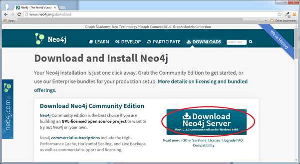 Neo4j - Exe Environment Setup