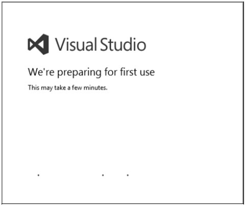 Visual Studio First Use