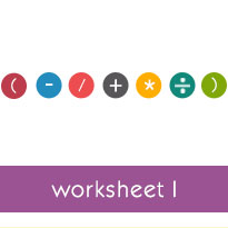 Order of operations with whole numbers and exponents basic worksheets ibookread Download