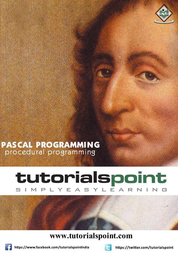 Pascal Tutorial