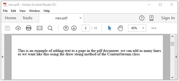 Java for pdf reader file