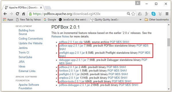 PDFBOX 2 0 MAVEN EPUB