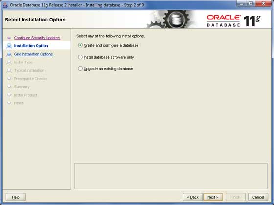 Oracle Install 2