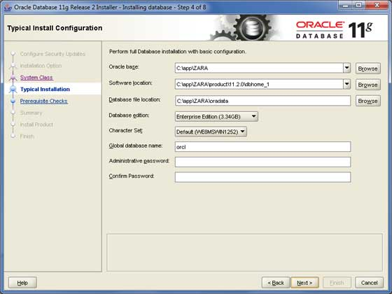 Oracle Install 4