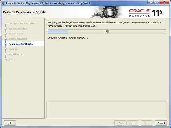 Oracle Install 5