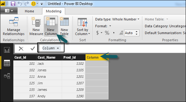 DAX Basics in Power BI - Tutorialspoint