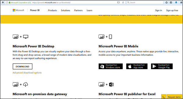 Power BI - Quick Guide - Tutorialspoint
