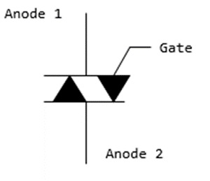 Power electronics triac on scr diagram