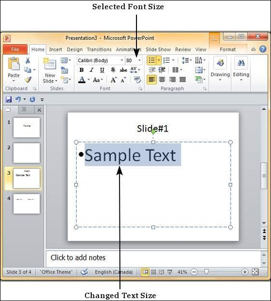 Change text size in powerpoint 2010 microsoft powerpoint 2010 toneelgroepblik Gallery