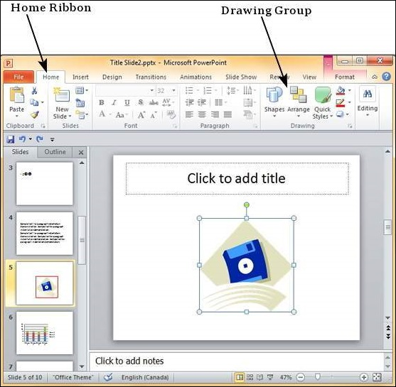 Drawing Lines In Powerpoint : Borders and shades in powerpoint