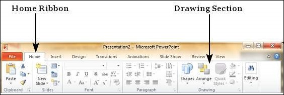 Adding New Text Boxes in Powerpoint 2010