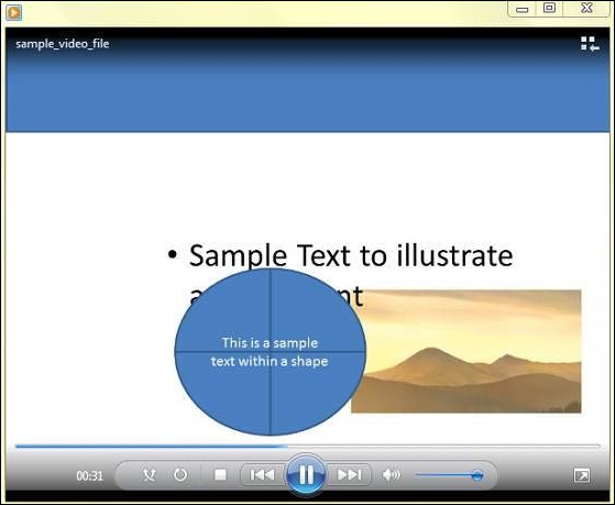 Create a Video File in Powerpoint 2010