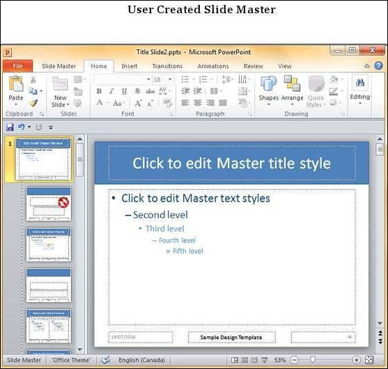how to create a master template in powerpoint - save design template in powerpoint 2010