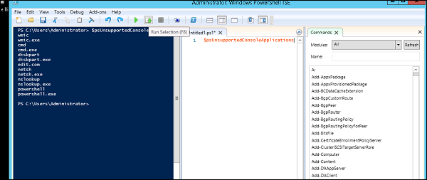 Powershell - Quick Guide