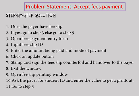 Accept Fees Payment