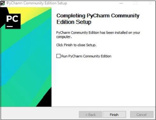 Completing Pycharm