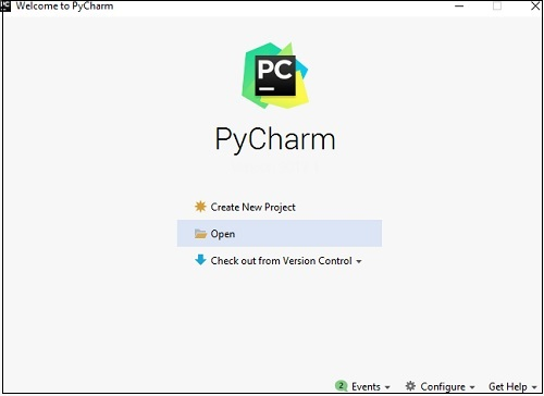 Welcome Pycharm