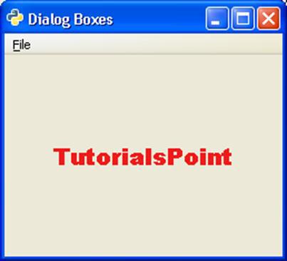 PyGTK - Quick Guide - Tutorialspoint
