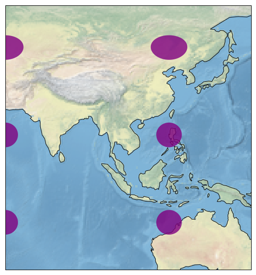 Python - Geographical Data