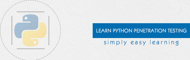 Python Penetration Testing Tutorial - Tutorialspoint