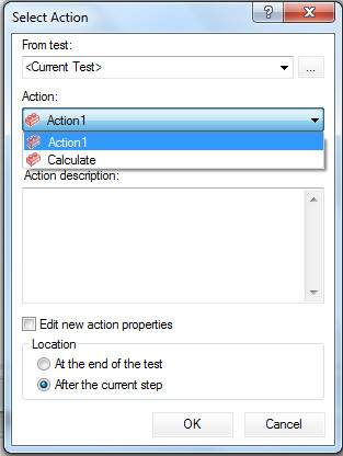 Inserting Call to Copy Action Step 2