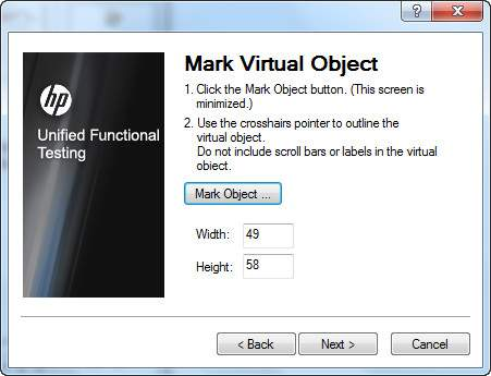 Virtual Object Step 3