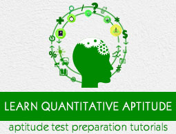 Quantitative Aptitude Tutorial