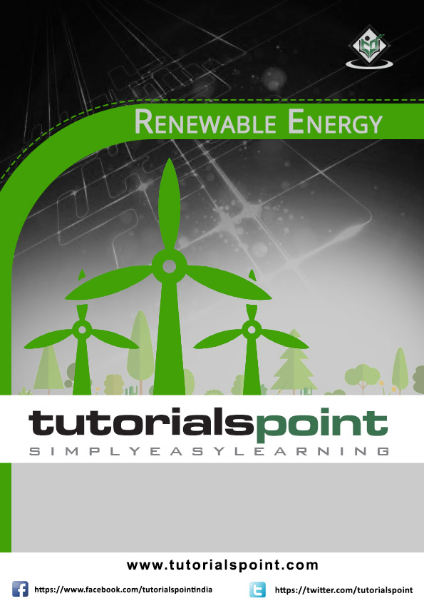 Renewable Energy Tutorial In Pdf Tutorialspoint