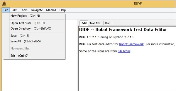 Robot Framework - Quick Guide - Tutorialspoint