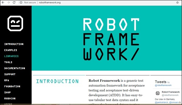 Database Using Robot Framework