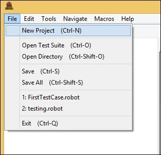 Robot Framework - Working With Dropdown - Tutorialspoint