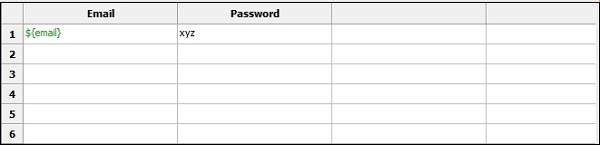 Invalid Password